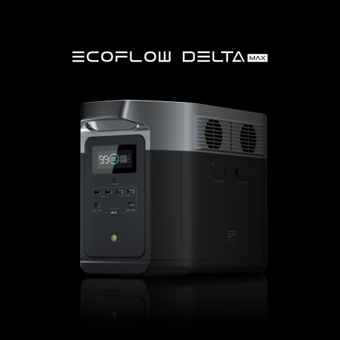 EcoFlow lance DELTA Max, une station d'alimentation de secours pour domicile