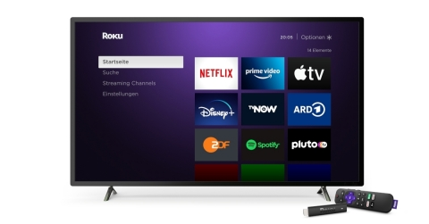Roku presents streaming player line-up for Germany (Photo: Business Wire)