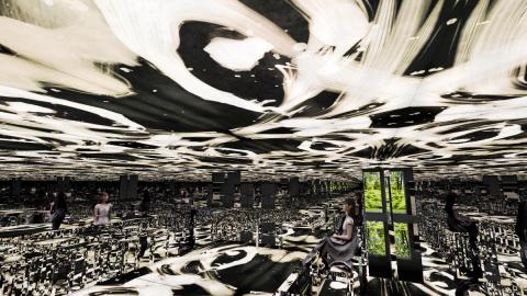 teamLab, 2021, Digital Installation, Sound: Hideaki Takahashi (Photo: Business Wire)