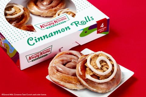 Fans can enjoy two cinnamon rolls like never before, including one topped with Cinnamon Toast Crunch, beginning Sept. 27 (Photo: Business Wire)