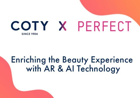 Coty expands beauty tech offerings globally with omni-channel Perfect Corp. partnership (Graphic: Business Wire)