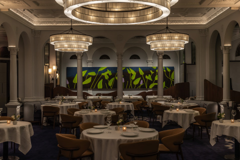 Newly redesigned interiors at Restaurant DANIEL. (Photo: Business Wire)
