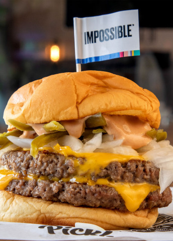 Impossible™ Double Cheeseburger from Pickl (Photo: Business Wire)
