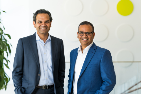 Medidata co-CEOs Sastry Chilukuri and Rama Kondru (l, r) (Photo: Business Wire)
