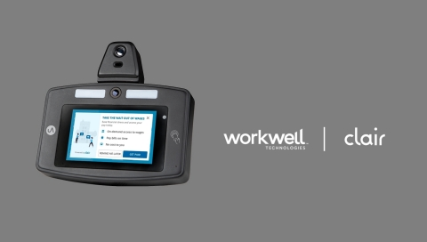 Clair and Workwell Technologies™ partner to launch a time clock that pays you instantly (Photo: Business Wire)