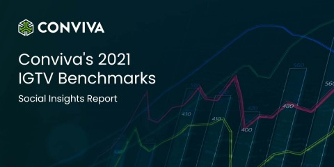 Conviva's 2021 IGTV Benchmarks - Social Insights Report (Graphic: Business Wire)