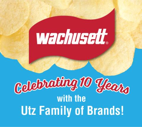 Wachusett Brand celebrates 10 years with Utz Brands, Inc. Source: Utz Brands, Inc.