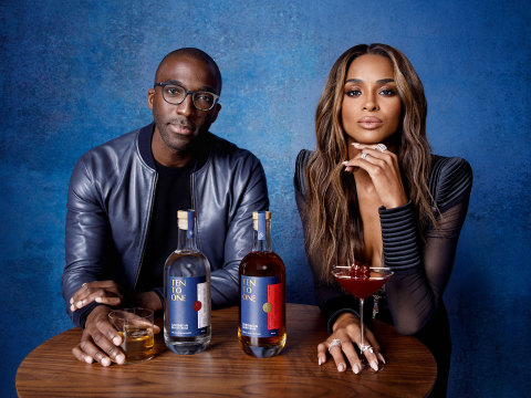 Ten To One Rum Partners Marc Farrell and Ciara (Photo: Business Wire)