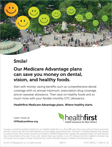 Healthfirst Medicare Advantage Plans can save you money on dental, vision, and healthy foods. (Photo: Business Wire)