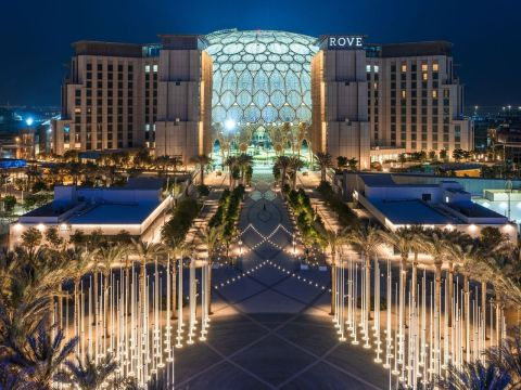 Expo 2020 Dubai's only on-site hotel - Rove Expo 2020 (Photo: AETOSWire)