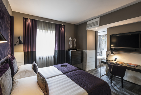 Guestroom at The Tribune Hotel (Photo: Business Wire)