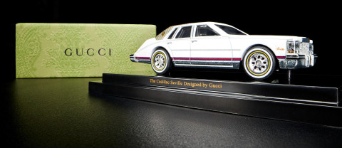 Mattel Creations is adding to its growing list of creators with a unique Hot Wheels® collectible honoring Gucci's 100th anniversary. (Photo: Business Wire)