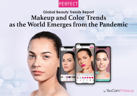 Perfect Corp.'s new trend report spotlights consumer shift to digital channels and return to beauty routines. (Photo: Business Wire)