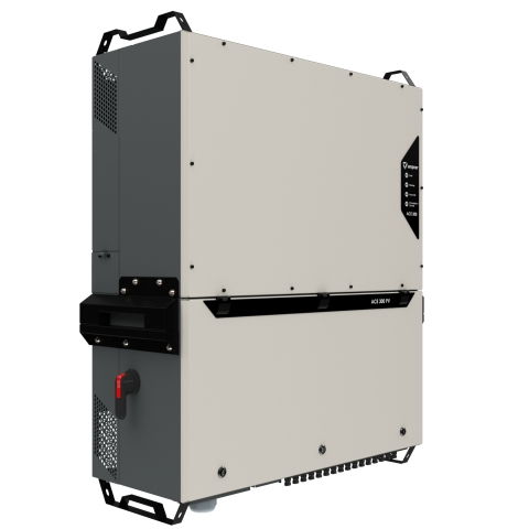 With industry-leading rated power of 333 kW, the Ampner ACETM 300 string inverter family enables building flexible and reliable solar power plants and battery energy storages for environmentally extremely demanding conditions, such as heat, cold, high altitudes, and highly corrosive areas. (Photo: Business Wire)