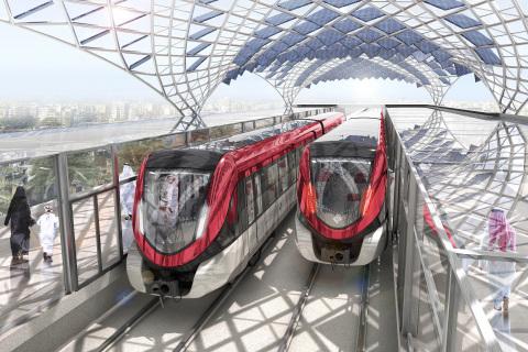 OXplus завершила два крупных проекта по внедрению IBM Maximo в 2020-2021 годах в Эр-Рияде (КСА), тем самым обеспечив поддержку двух операторов и специалистов по техническому обслуживанию для всех шести линий метрополитена, охватывающих 176 километров путей/инфраструктуры, 85 станций и в общей сложности 470 беспилотных вагонов. Метрополитен Эр-Рияда считается крупнейшим в мире проектом городской железной дороги за пределами Китая.