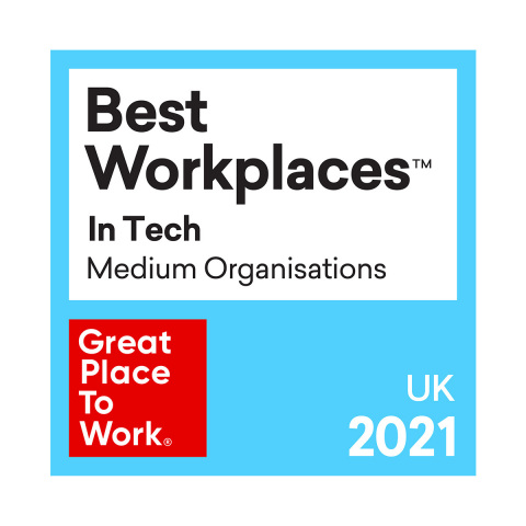 Rimini Street UK Once Again Ranked in the Top 20 for 2021 UK's Best Workplaces™ in Tech (Graphic: Business Wire)