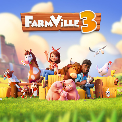 Zynga Opens Pre-Registration for FarmVille 3 (Graphic: Business Wire)