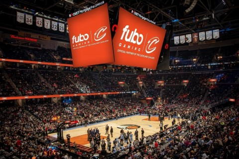 Cleveland Cavaliers and Fubo Gaming Announce Long-Term Partnership (Photo: Business Wire)