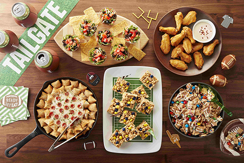 General Mills' Tailgate Nation is here for all the fans, bringing recipes and entertaining ideas to wearetailgatenation.com that are perfect for the tailgater or homegater. (Photo: Business Wire)