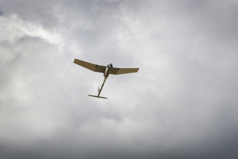 The Raven system is designed for low-altitude intelligence, surveillance, and reconnaissance missions that depend on rapid deployment and pinpoint maneuverability. (Photo: AeroVironment, Inc.)