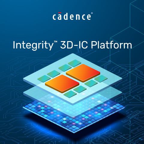 The Cadence® Integrity™ 3D-IC platform is the industry's first comprehensive, high-capacity 3D-IC platform that integrates 3D design planning, implementation and system analysis in a single, unified cockpit. (Graphic: Business Wire)