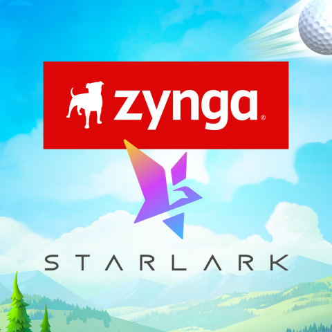 Zynga Closes Acquisition of Mobile Game Developer StarLark; Expands Game Portfolio with Hit Franchise, Golf Rival (Graphic: Business Wire)