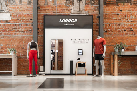 MIRROR in-store experience (Photo: Business Wire)