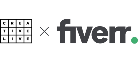 Fiverr acquires creative and entrepreneurial education platform, CreativeLive, to expand online learning capabilities (Graphic: Business Wire)
