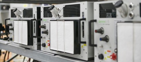 An image of the SereneU 5kW fuel cells (Photo: Business Wire)