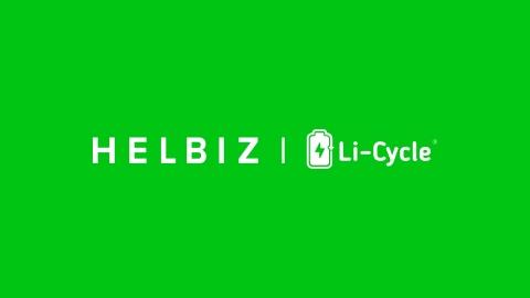 Partnership between Helbiz and Li-Cycle Achieves Sustainability Milestone (Photo: Business Wire)