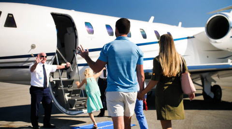 flyExclusive's Jet Club allows private jet travelers to fly like an owner (Photo: Business Wire)