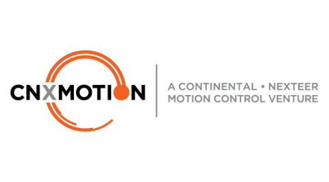 CNXMotion is a joint venture between Continental and Nexteer Automotive with the vision of accelerating trusted motion control through collaboration. (Photo: Business Wire)