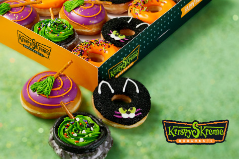 Logo change is part of the brand's spooky-sweet take on adorable seasonal symbols, plus $1 doughnut dozens every Saturday and a FREE doughnut offer on Halloween. (Photo: Business Wire)