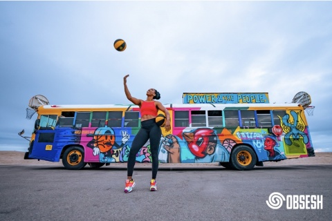 WNBA star and UCLA basketball alum Monique Billings joins Obsesh sports marketplace as an Athlete and Advisor to help shape and create the future of sports. Photo credit: Obsesh