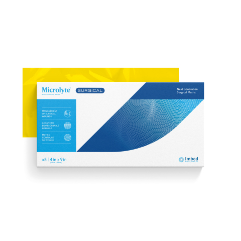 Microlyte(R) Surgical antimicrobial wound matrix. (Photo: Business Wire)