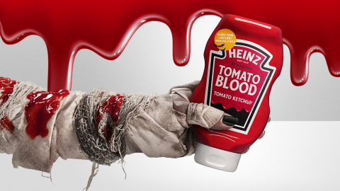 America's Favorite Ketchup returns with HEINZ Tomato Blood Ketchup, new HEINZ Tomato Blood Costume Kit and first-ever HEINZ Halloween Store in LA (Photo: Business Wire)