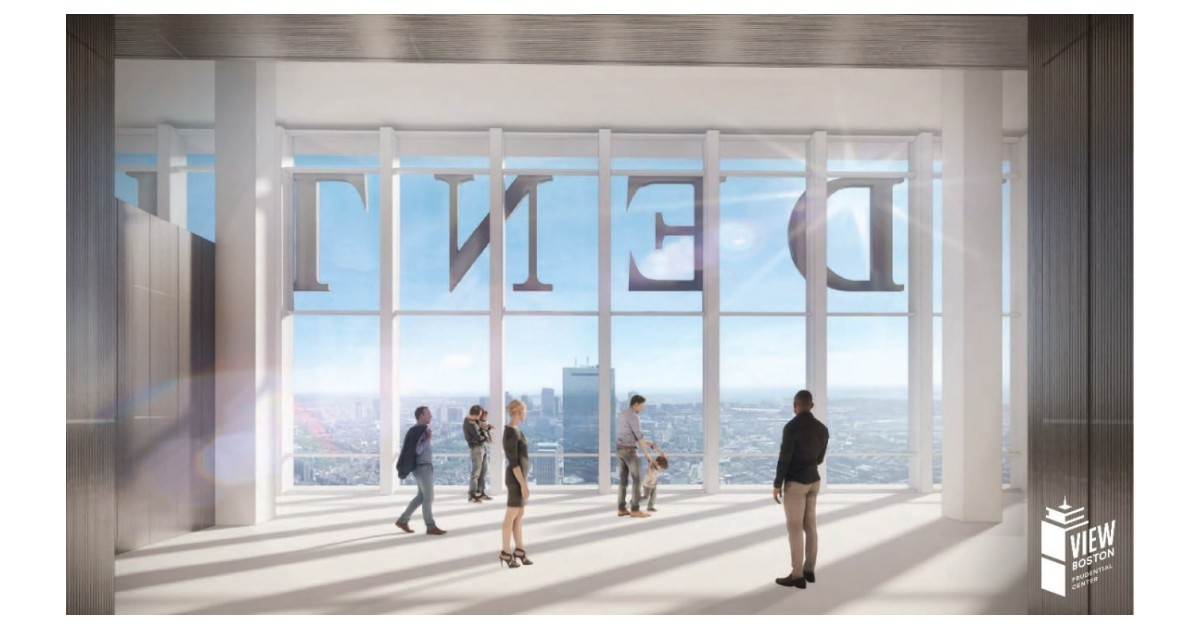 Boston Properties Announces View Boston Observatory at Prudential Center