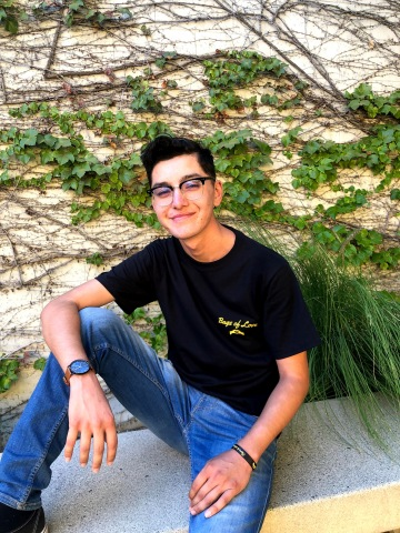 Julian Castañeda, 20, of Northridge, California, was diagnosed with leukemia for a second time when he was 16-years-old. He received a lifesaving bone marrow transplant. His donor was Johannes Eppler, 27, of Breisach, Germany. (Photo: Business Wire)