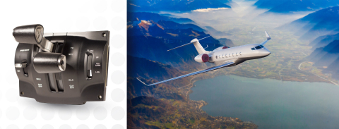 Sensata Technologies' new aircraft autothrottle assembly is being integrated into new light jet aircraft to help reduce pilot workload and enhance flight safety. (Photo: Business Wire)