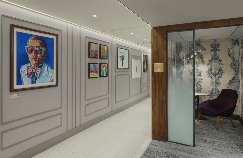 Art gallery to appreciate and discover London through design (Photo: Business Wire)