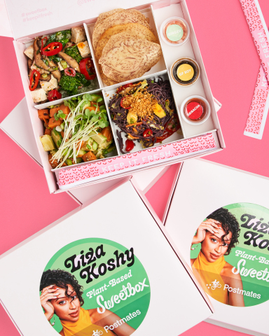 Sweetfin announces their first plant-based Sweetbox with Liza Koshy. (Photo: Business Wire)