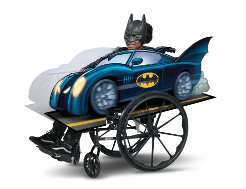 Disguise Batman Adaptive Wheelchair Cover Costume (Photo: Business Wire)