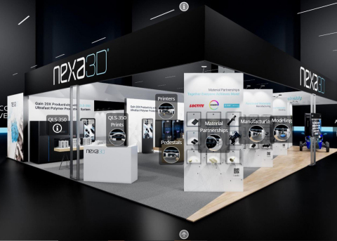 Nexa3D Virtual Booth (Photo: Business Wire)