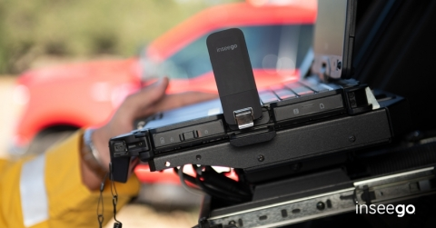 Inseego USB8L 4G Global USB modem at Verizon. Secure, plug-and-play connectivity for IoT and public safety. (Photo: Business Wire)