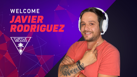 Turtle Beach partners with Mexican TV personality, producer, content creator, gamer and host Javier Rodriguez (Photo: Business Wire)