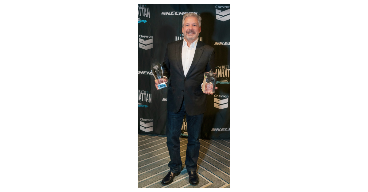"""Skechers President Michael Greenberg Is Inducted Into Best of Manhattan's Hall of Fame and Skechers Wins """"Pay It Forward"""" Award"""