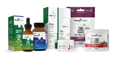 HempFusion CBD Products (Photo: Business Wire)